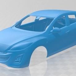 foto 1.jpg Download STL file Mazda 3 hatchback 2011 Printable Body Car • 3D printable object, hora80