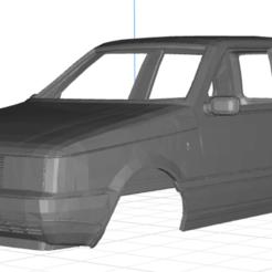 Descargar archivo 3D Fiat Uno MK1 Body Car, hora80