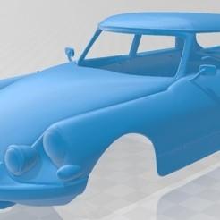 Descargar archivo 3D Citroen DS 19 Pallas 1966 Printable Body Car, hora80
