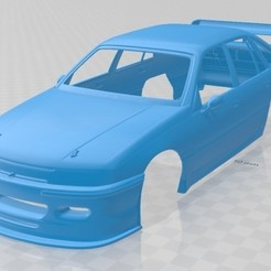 foto 1.jpg Download STL file Holden Commodore Touring 1993 Printable Body Car • 3D print template, hora80