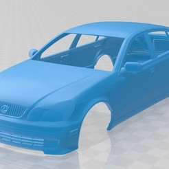 foto 1.jpg Télécharger fichier STL Carrosserie imprimable de la Lexus GS 2004 • Plan à imprimer en 3D, hora80