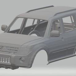 Descargar archivo 3D Mitsubishi Pajero Printable Body Car, hora80