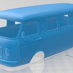 foto 1.jpg Download STL file Fiat 238 Bus 1968 Printable Body Van • 3D printer template, hora80