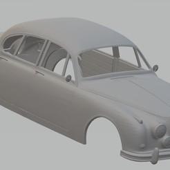 Descargar archivo 3D Jaguar MK2 1962 Printable Body Car, hora80