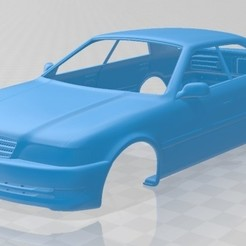 foto 1.jpg Download STL file Toyota Chaser 1998 Printable Body Car • 3D printing model, hora80