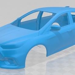 Descargar modelos 3D Focus RS Printable Body Car, hora80