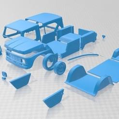 Descargar archivos 3D Citroen Mehari 1968 Printable Car, hora80