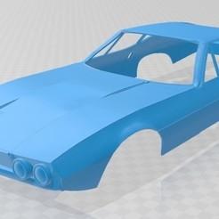 Download 3D printer model Jaguar Pirana Bertone 1967 Printable Body Car, hora80