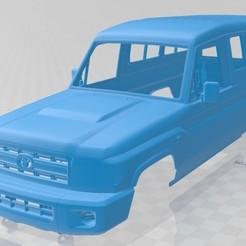 foto 1.jpg Télécharger fichier STL Toyota Land Cruiser J78 2010 Carrosserie imprimable • Objet pour impression 3D, hora80