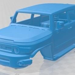 Toyota FJ Cruiser VXR 2011-1.jpg Télécharger fichier STL Carrosserie imprimable du Toyota FJ Cruiser VXR 2011 • Objet imprimable en 3D, hora80