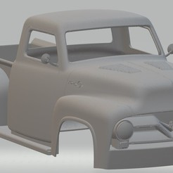 Descargar diseños 3D F 250 1955 Printable Body Truck, hora80