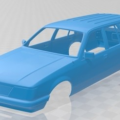foto 1.jpg Download STL file Holden Commodore Wagon 1981 Printable Body Car • 3D printer template, hora80