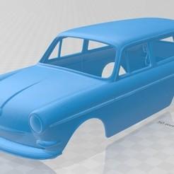 foto 1.jpg Download STL file Volkswagen Squareback Printable Body Car • 3D printer object, hora80