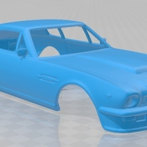 Download STL File Aston Martin V8 Vantage 1977 Printable