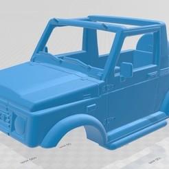 Impresiones 3D Suzuki Samurai Convertible Printable Car, hora80
