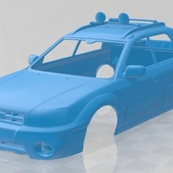 foto 1.jpg Download STL file Subaru Baja 2002 Printable Body Car • 3D printable template, hora80