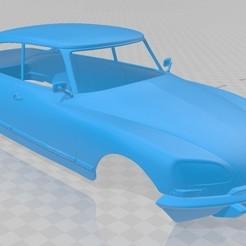 foto 1.jpg Télécharger fichier STL Citroën DS 1967 Carrosserie imprimable • Objet à imprimer en 3D, hora80