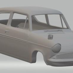 Imprimir en 3D Anglia 105e Printable Body Car, hora80