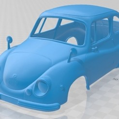 foto 1.jpg Download STL file Subaru 360 1958 Printable Body Car • Object to 3D print, hora80