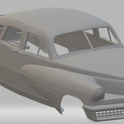 Download 3D printer model Tucker Torpedo 1948 Printable Body Car, hora80