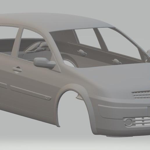 Descargar archivos 3D Renault Megane Printable Body Car, hora80