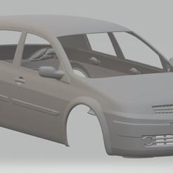 Download STL Renault Megane Printable Body Car, hora80
