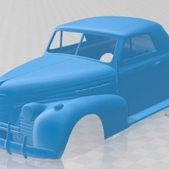 foto 1.jpg Télécharger fichier STL 80 Cabriolet 1939 Carrosserie imprimable • Design à imprimer en 3D, hora80