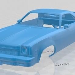 foto 1.jpg Télécharger fichier STL El Camino 1973 Voiture à carrosserie imprimable • Modèle pour imprimante 3D, hora80