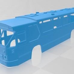 Download 3D printer designs DAF MB 200 Printable Body Bus, hora80