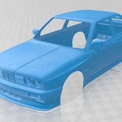 foto 1.jpg Télécharger fichier STL E30 M3 Voiture à carrosserie imprimable • Objet pour imprimante 3D, hora80