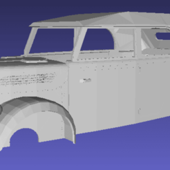 Download 3D model Steyr 1500 Printable Body Car with chassis, hora80