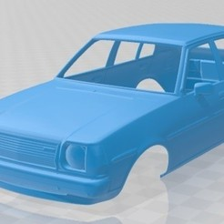 foto 1.jpg Download STL file Mazda 323 Family 1978 Printable Body Car • Design to 3D print, hora80