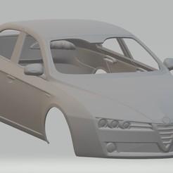 Descargar modelos 3D Alfa Romeo 159 Printable Body Car, hora80