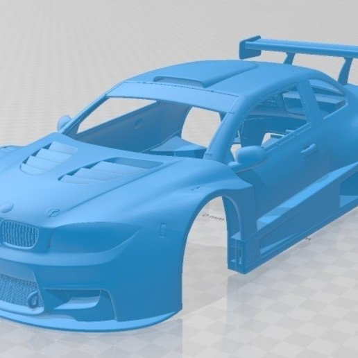 Download STL file M1 Coupe 2011 Printable Body Car, hora80