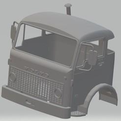 foto 1.jpg Télécharger fichier STL Camion à cabine imprimable Volvo F86 • Plan pour impression 3D, hora80