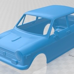 Download 3D printer files Honda N600 1970 Printable Body Car, hora80
