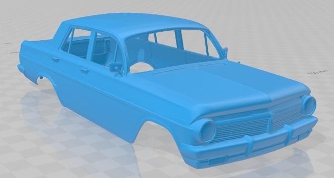 Holden Special EH 1963-2.jpg Download STL file Holden Special EH 1963 Printable Body Car • 3D printer object, hora80