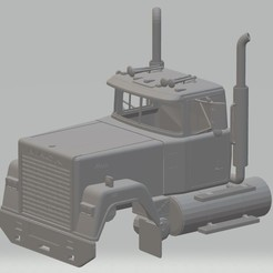 Download 3D print files Super Liner 2 Printable Cabin Truck, hora80