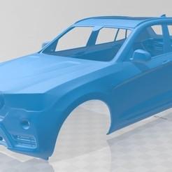 foto 1.jpg Download STL file X3 2015 Printable Body Car • 3D printing template, hora80