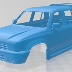foto 1.jpg Download STL file Toyota 4Runner 1992 Printable Body Car • Model to 3D print, hora80