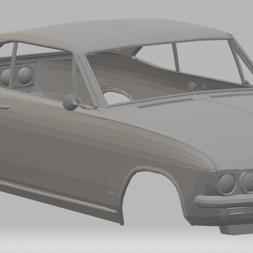 Download 3D printing templates Monza 1966-1969 Printable Body Car, hora80