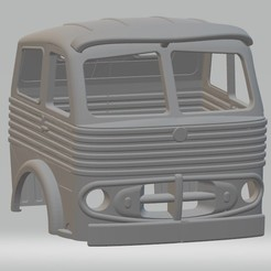 foto 1.jpg Download STL file Pegaso 2011 50 Cabezon Printable Cabin Truck • Design to 3D print, hora80