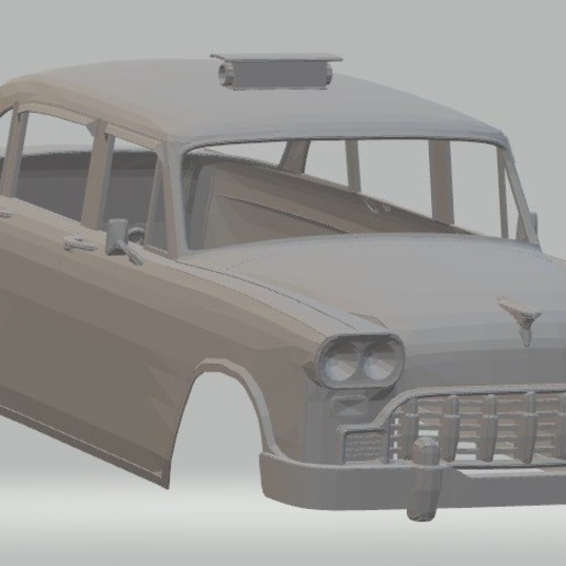 Download STL files Old Taxi New York Printable Body Car, hora80