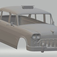 Descargar archivo 3D Old Taxi New York Printable Body Car, hora80