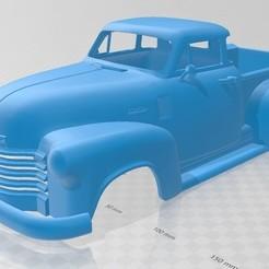 Descargar modelos 3D COE 1952 Printable Body Truck, hora80