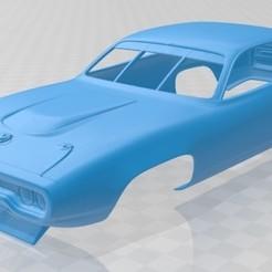 foto 1.jpg Download STL file Roadrunner Nascar 1971 Printable Body Car • 3D printer template, hora80