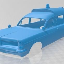 foto 1.jpg Télécharger fichier STL Bonneville Ambulance Kennedy 1963 Voiture à carrosserie imprimable • Objet pour impression 3D, hora80