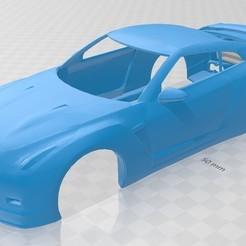 Descargar modelos 3D Nissan GTR Nismo Printable Body Car, hora80