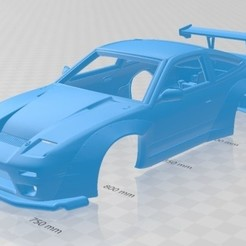 foto 1.jpg Download STL file Nissan 380SX Printable Body Car • Object to 3D print, hora80