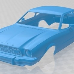 foto 1.jpg Download STL file 1974 Mustang Coupe Printable Body Car • 3D printer model, hora80
